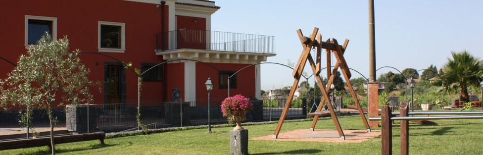 Villa Giuffrida Ristorante  – Sala ricevimenti