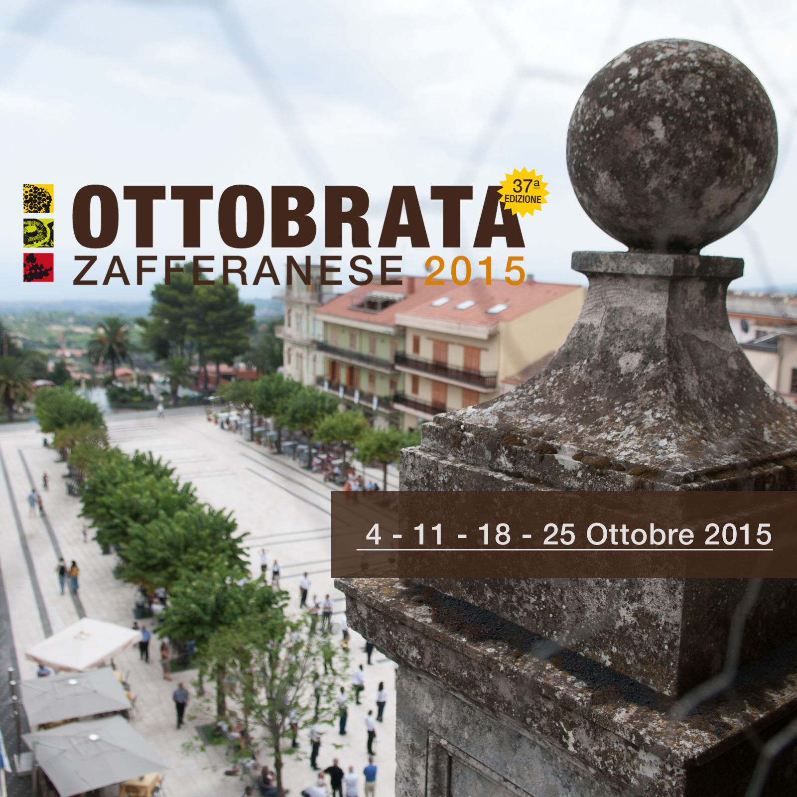 Le date dell'Ottobrata 2015